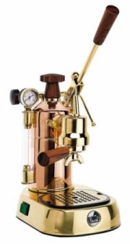 La Pavoni PPG-16 Professional 16-Cup Espresso Machine Brass