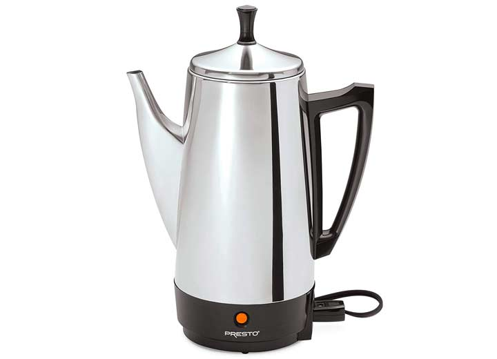 Presto 02811 Stainless Steel Coffee Maker