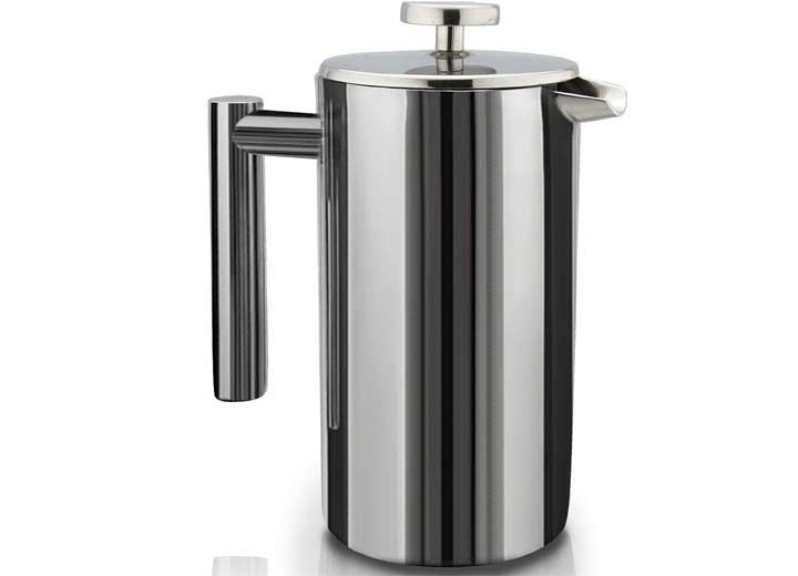 SterlingPro French Press Double-Wall Stainless Steel Coffee Maker