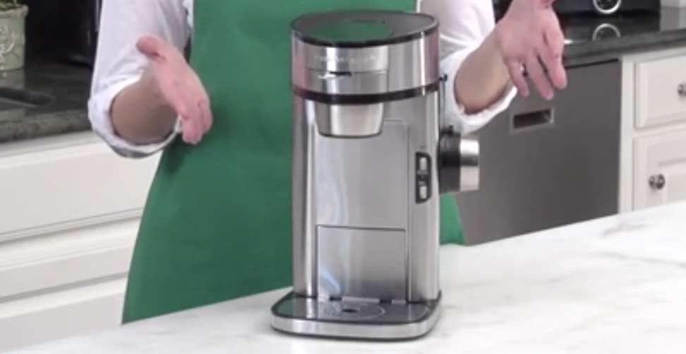 Hamilton Beach The Scoop Single Serve Coffee Maker Review