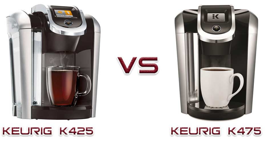 Keurig K425 vs K475 Review: Is there any difference?